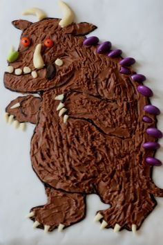 gluten-free gruffalo chocolate birthday cake