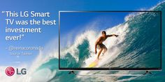 Not all people invest this wisely. We're glad @ reinacoronada did. #TV  http://www.lg.com/us/experience-tvs/smart-tv/enjoy.jsp