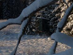 Observation cabin in Färna
