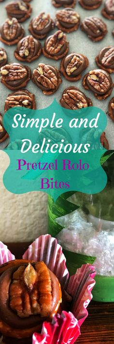 Simple and Delicious Pretzel Rolo Bites | Easy Holiday Treat