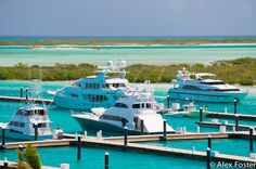 Blue Haven Marina - the newest, bestest place for Super Yachts, in Turks & Caicos