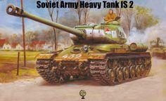 IS Tank: Soviet Army Heavy Tank World War II via @learninghistory
