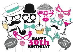 entertainment ideas for 30th birthday party - 30th Birthday Party Themes for Her and Him – Home Party Theme Ideas