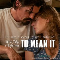"""""""It takes a second to say I love you but it takes a lifetime to mean it"""" Labor Day movie with Kate Winslet and Josh Brolin Buy Blu-Ray http://j.mp/BuyLaborDay Buy Digital HD http://j.mp/iTunesLaborDayFacebook … #LaborDayMovie"""