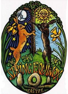 Ostara article with correspondences etc