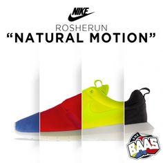 "NIKE ROSHERUN ""NATURAL MOTION""  www.sneakerbaas.nl"