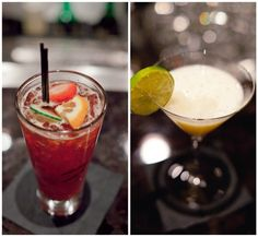 A few of our cocktails!