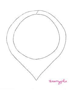 Aurora Necklace Template