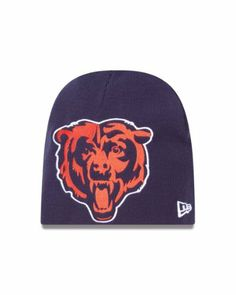 18c0133d9 NFL Chicago Bears Big One Two Cuffless Knit Cap by New Era.  9.46. 100