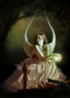 Angel and fairy alike