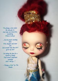 Blythe-a-Day July 2014#20: Fave Beatles Song: Narcissa Ros… | Flickr