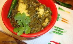 Spinach and Cheese/Palak Paneer  This is the recipe I want to use/cw