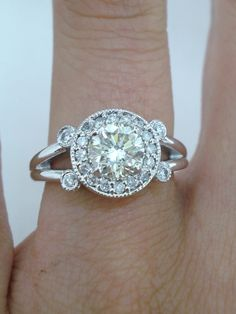Hey, I found this really awesome Etsy listing at https://www.etsy.com/listing/104820851/natural-diamond-engagement-ring-115