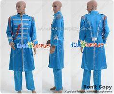 The Beatles Sgt Pepper Sir James Paul McCartney Uniform Blue Coat Costume