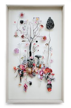 Stop And Smell The Roses: The Eclectic Flora Collages Of Anne Ten Donkelaar