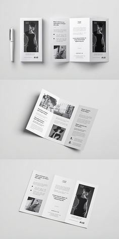 Multipurpose Trifold Brochure Template Brochure Template # Source by rayla_jie Brochure Cover, Brochure Layout, Brochure Template, Leaflet Layout, Leaflet Design, Graphic Design Brochure, Graphic Design Posters, Tri Fold Brochure Design, Luxury Brochure