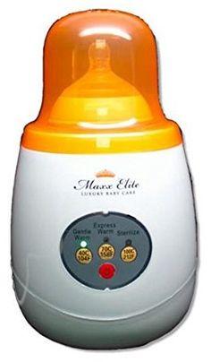 """Maxx Elite""""Gentle Warm"""" Smart Bottle Warmer & Sterilizer w/""""Steady Warm"""" (Orange) Avent Bottle Warmer, Baby Bottle Warmer, How To Warm Breastmilk, Thermal Flask, Best Baby Bottles, Baby Bottle Sterilizer, Food Jar, Stay Calm"""