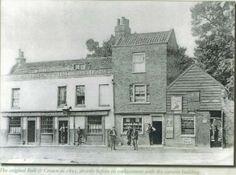 The Original Bull & Crown in 1895, Chingford