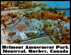 Belmont Amusement Park Poster – Montreal Quebec Canada by MyGenerationShop on Etsy Old Montreal, Montreal Ville, Montreal Quebec, Amusement Park, Roller Coaster, Photos Du, Vintage Ads, Childhood Memories, Attraction