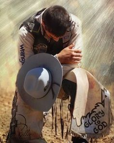 "Cowboy In Prayer....""where did they all go?"""