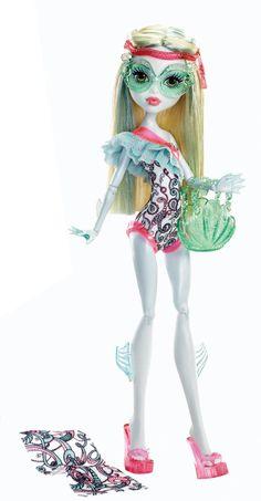 Monster High Swim Class - En Maillot De Bain Serie ASST. Y7302 Poupée Doll Y7305 Lagoona Blue: Amazon.fr: Jeux et Jouets