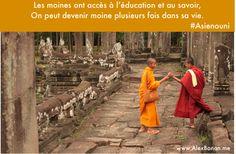 Xmas Cards 2013  #Asienouni #Cambodge #AngkorVat #Monks