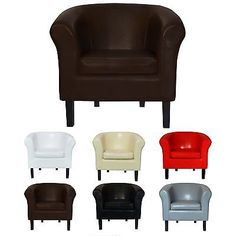 """Sessel Clubsessel Loungesessel  Cocktailsessel """"MONACO 2"""" 6 Farben Bar Disco"""