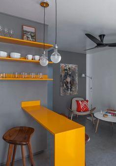 Charmant Kleine Wohnung   Design In Grautönen
