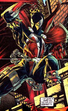 SPAWN #1 (May 1992) - Todd McFarlane, Colors - Steve Oliff