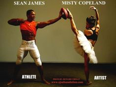 Ballet/Football = Art/Athletics