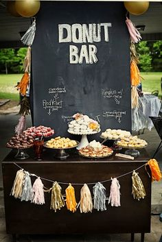 who doesn't like a Donut bar?! ;)