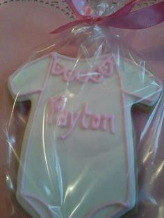 Name/onsie Cookies $3 per cookie Not Enough Thyme (636) 235-6094 https://m.facebook.com/caterernet  email: cetcatering@yahoo.com