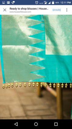 Saree Tassels Designs, Saree Kuchu Designs, Kids Blouse Designs, Sari Blouse Designs, Pattu Sarees Wedding, Kurtha Designs, House Of Blouse, Amai, Saree Dress