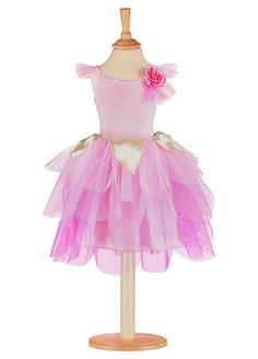 #Girls rose #petal fairy #dress by travis - pink fairy #dress up costume 3/5yrs,  View more on the LINK: 	http://www.zeppy.io/product/gb/2/281916913217/