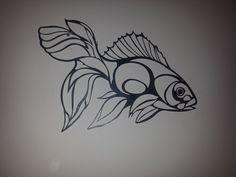 Duvar süsü #balık #çelik #metalsüs #metalduvarsüsü (sipariş alınır)