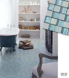 SICIS Glass Mosaic Floor
