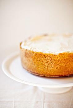 salted caramel & vanilla baked cheesecake