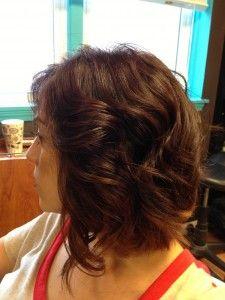 Short Hair - cute curls how-to