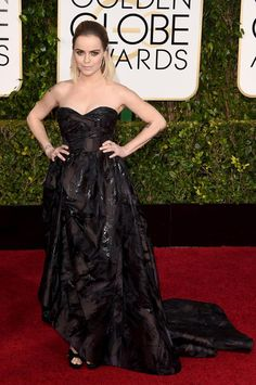 taryn manning at the 2015 #goldenglobes