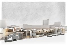LongSection -  Oliver Justice #Marseille #Urban Design #Architecture