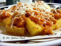 My Italiano Connection with Giulianna Rigali: Savory Polenta Recipe, Fried, Grilled, or Soft: De...