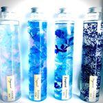 【選べる】涼しげな夏色ブルーのハーバリウム「Fragment」♡プレゼントにどうぞ♡