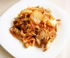 day029-午餐-泡菜炒豬肉.JPG