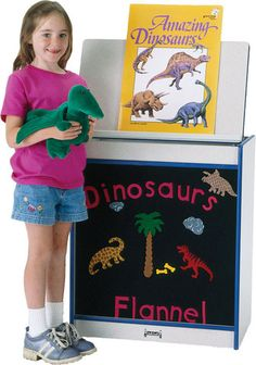 Big Book Easel-Flannel   Honor Roll Childcare Supply