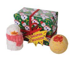 LUSH - Snowman Invasion Gift