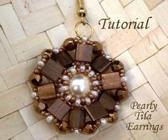 Lots of Free Jewelry Making Tutorials & Lessons: FREE Tila Beads Beading Tutorials #jewelrymaking