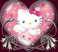Desgarga gratis los mejores gifs animados de hello kitty. Imágenes animadas de hello kitty y más gifs animados como ángeles, gracias, animales o nombres