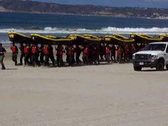 Coronado Navy SEALs Training BUDs on Beach