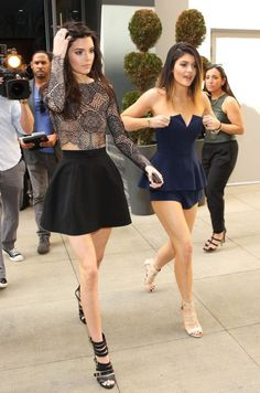 Kendall And Kylie Girly Outfits 2017 Street Style