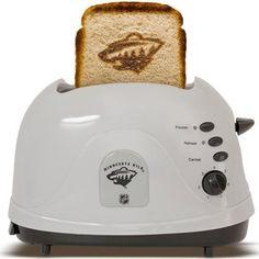MN Wild logo toast.